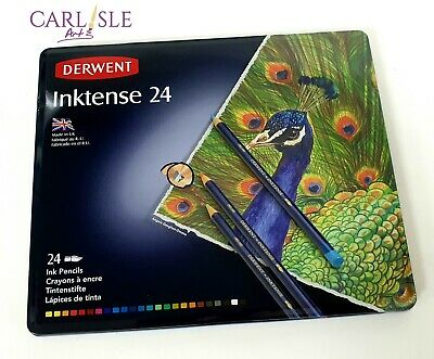 Derwent Inktense Watersoluble Pencils, 24 Set