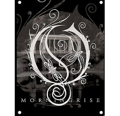 Opeth Morningrise Poster Flag Official Textile Fabric Wall Banner New