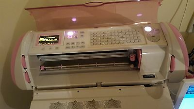 Pink Cricut Expression Breast Cancer Limited Edition & Jukebox. stamping craft