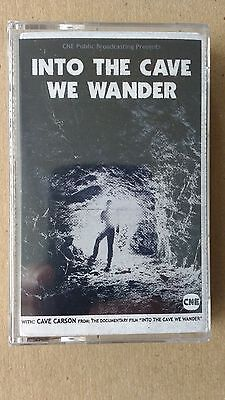 """Gerard Way (My Chemical Romance) """"Into The Cave We Wander"""" Cave Carson Cassette"""