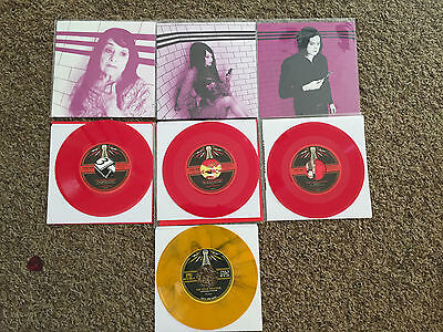 "Third Man Records 7"" Bundle: Plum Series, The White Stripes, Vault -- Weather"