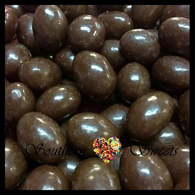 Dark Chocolate Coated Almonds 1Kg Choc Made In Australia By Newmans Xmas Lollies