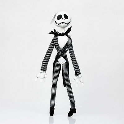 "12"" Jack Skellington Plush Doll The Nightmare Before Christmas Figure Soft Toy"