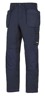 Snickers Trousers 6201 AllroundWork Holster Pocket Trousers Mens Navy Workwear