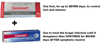 Candacort AND Canesten Cream Treat Fungal Infections SAME AS HYDROZOLE CANESTEN