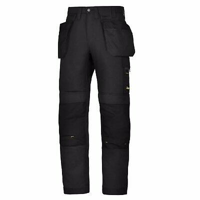 Snickers Trousers 6201 AllroundWork Holster Pocket Trousers Mens Black Workwear
