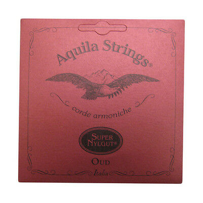 Aquila Oud Strings - 13O - Nylgut - Arabic 11 String Set Normal Tension - cgdAFC