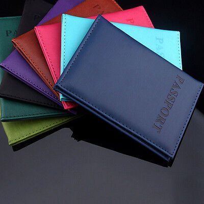 Hot Journey Travel Passport Holder Protector Cover Wallet Leather Cover Case New
