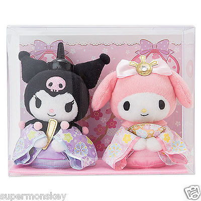 Sanrio Melody And Kuromi Plush Doll ( 2016 Doll Festival ) 152706