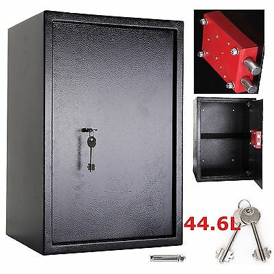 Large High Security Secure Key Steel Safes Home Office Safety Box 7 Lever Lock