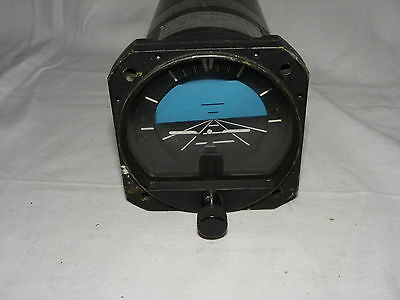 GYRO HORIZON INDICATOR PN 80480081 / SERIAL No.01836  COCKPIT INSTRUMENT