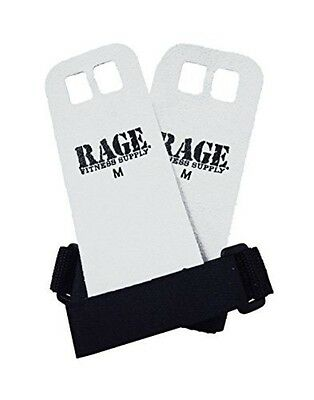 Gibson Athletic RAGE Fitness Leather Hand Grips - Medium