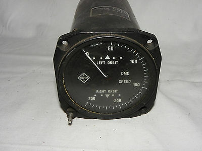Narco Gsi-1 / Dme Speed Indicator K-04191-1   Cockpit Instrument