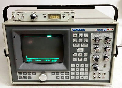 Canberra Series 35 Plus Multi-Channel Analyzer Model 3502 Opts. 3521 3543 4261A