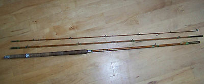 12ft Vintage Split Cane Rod For Spares or Repair