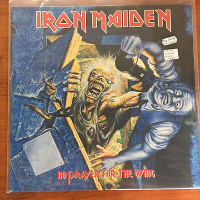 "Iron Maiden ‎– No Prayer For The Dying 12"" LP 1st Press ITA"