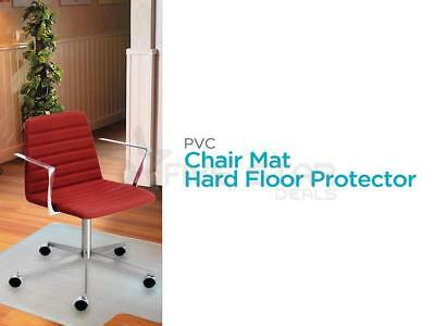 Non Slip Smooth Clear Frosted Pvc Hard Floor Protector Mat For Home Office Chair