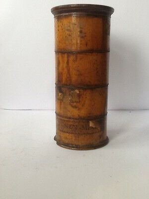 Antique Treen Spice Tower 5 Piece set