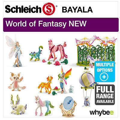 New! Schleich Bayala 2016 Range Of Fantasy Figures & Mythical Characters!
