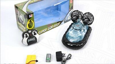 Remote control Hovercraft style War boat  rechargeable large Christmas gift toy