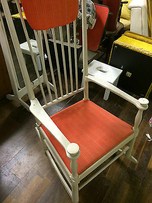 Rocking Chair, 1960s 70s Danish  N Eilersen chair, stunning retro Item