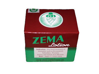 Box Of 12 Zema Lotion - Dermatitus Eczematoid Psoriasis Eczema Treatment Itching
