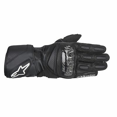 NEW Alpinestars Gloves SP-2 Leather Black from Moto Heaven