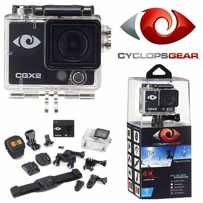 Cyclops Cgx2 4K  Full Hd Action Cam