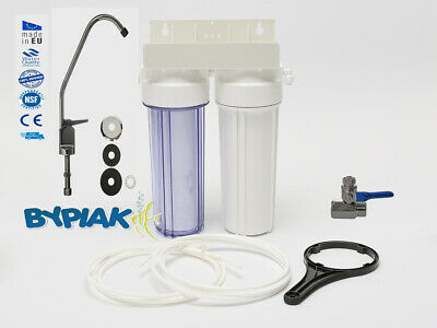 Home Drinking Water Filter System With Faucet & Accessories Domestic Under Sink