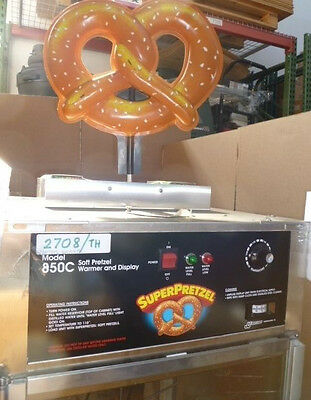 J & J Snack Foods Corp., Soft Pretzel Warmer Model # 850C (Item#k  2708 /th)