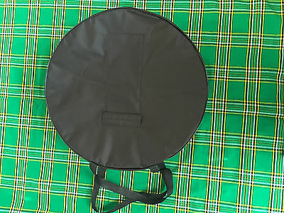 "18"" Bodhran Irish Drum Cover / Case / Bag New -  Black"