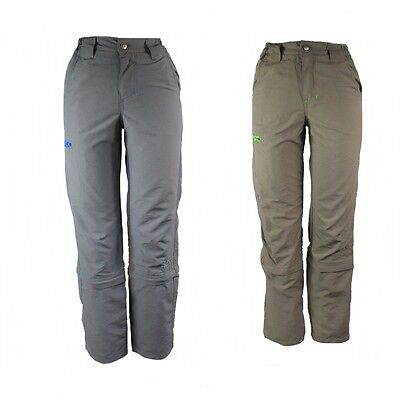 Boys Hiking Trousers Zip Off Hiking Trousers Trousers CRIVIT OUTDOOR