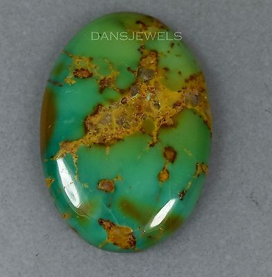 Loose Kings Manassa Turquoise Cabochon 4.0 Grams 20 Carats 20x30mm