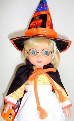 "Trick-or-Treat Ann Estelle 10"" Halloween Doll +Candy Pail Mary Engelbreit Tonner"