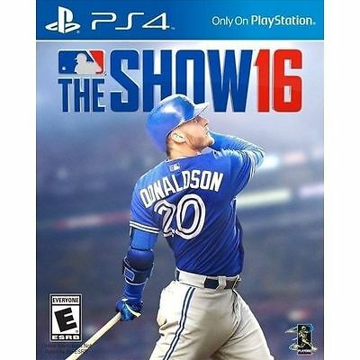 MLB The Show 16 PS4 Brand New *DISPATCHED FROM BRISBANE*