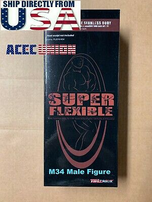 1/6 PHICEN PL2016-M34 Flexible Seamless Male SUPER MUSCULAR Figure Body U.S.A.
