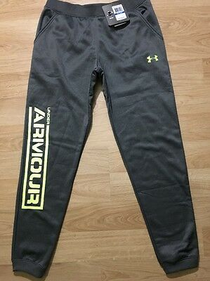 Under Armour Storm1 Pants Youth XL Gray Green Loose