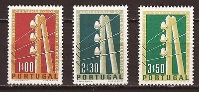 Portugal Sc#813-5 MNH Centenary of the Electrical Telegraph