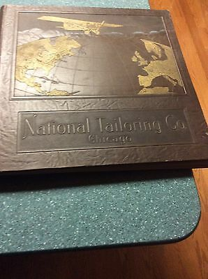 Orig 1927 National Tailoring Co Chicago Fashion Catalog Leyendecker Like Art