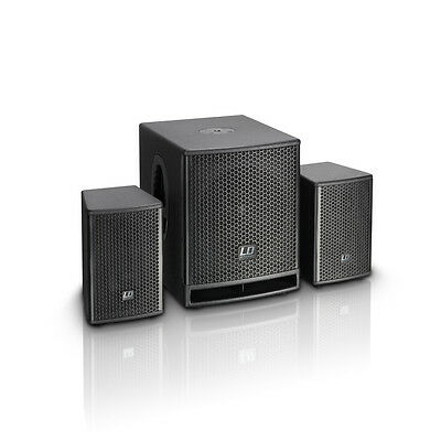 LD Systems DAVE 10 G3 - Active PA-System with DSP 700Watt 2.1 Speaker set