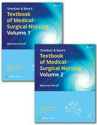 Smeltzer & Bare's Textbook of Medical-Surgical Nursing Volume 1 and 2 4th Editio