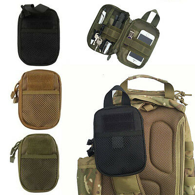 Outdoor Camping Hiking Pouch Wallet Phone Tactical Waist Fanny Pack Belt Bag