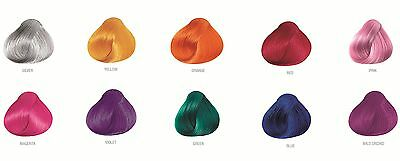 PRAVANA CHROMA SILK VIVIDS DEMI-PERMANENT HAIR DYE - All colors available