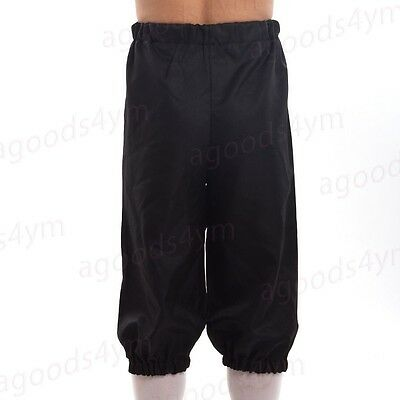 1pc Men Victorian Pants Fancy Costume Short Breeches  Riding Dickens Trousers