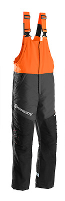 New Husqvarna Functional Carpenter Type A Class 1 Trousers Chainsaw Protection