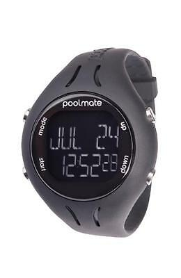 Swimovate Poolmate 2 Lap Counter Black Swimming Sport Pool Open Water Man Watch