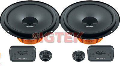 Kit 2Vie Completo 16Cm Hertz Dsk165.3 + Supporti Audi A4 Sw '97> Post