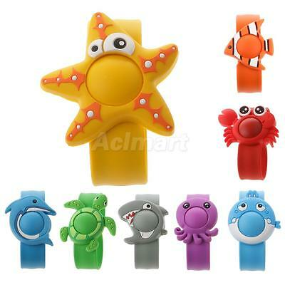 Cute Anti Mosquito Insect Repellent Bracelet / Wristband w/ 1 Pellet Child Safe