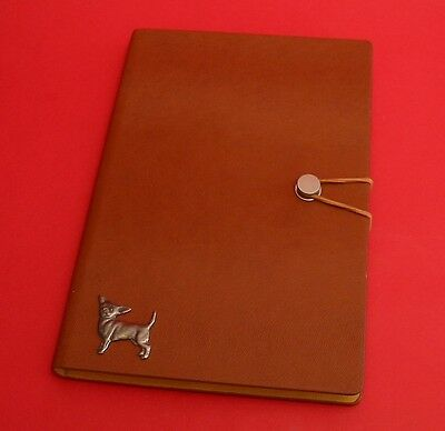 Golden Retriever Dog A5 Tan Note Book Journal Vet Father Mother Christmas Gift