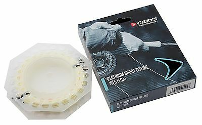 Greys New 2017 Platinum Shoot WF Float & Intermediate Trout Fly Fishing Line